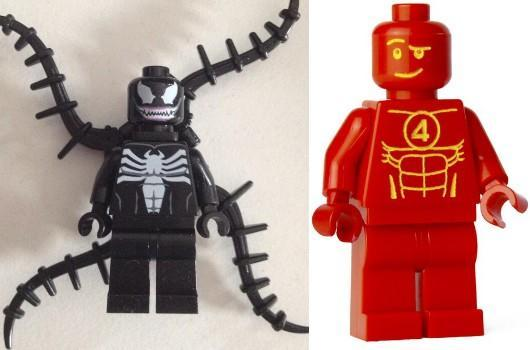 Lego Marvel Super Heroes adds Venom, Human Torch to the roster