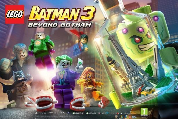 Brainiac has the whole world in his hands in LEGO Batman 3