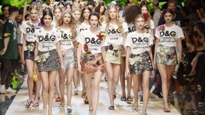 Dolce & Gabbana's New Sneakers Are Stirring Up Controversy