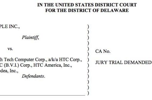 HTC and Apple settle all patent issues, enter 10-year licensing deal