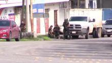 """Caos en Sinaloa iniciado por sicarios del hijo de """"Chapo"""" en México"""