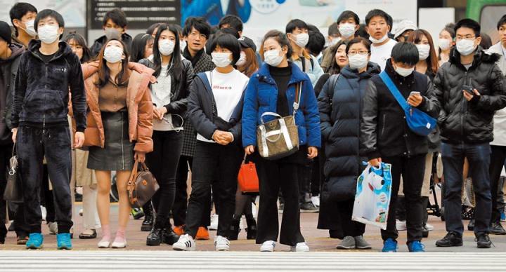 病毒爆「已變異」由東京向全日擴散