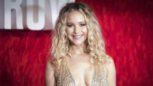 Jennifer Lawrence wears plunging gown to 'Red Sparrow' premiere