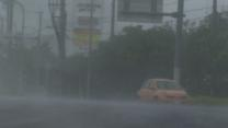 Raw: Powerful Typhoon Pummels Okinawa