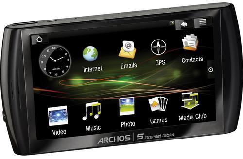 Android-based Archos gets pictured, briefly priced by B&H
