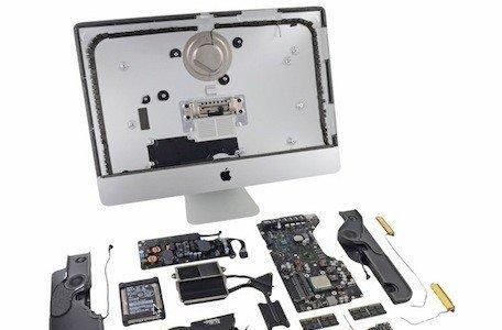 iFixit's teardown of the 21.5-inch iMac