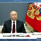 'Mr President?': Biden and Putin suffer awkward silence in climate summit technical glitch