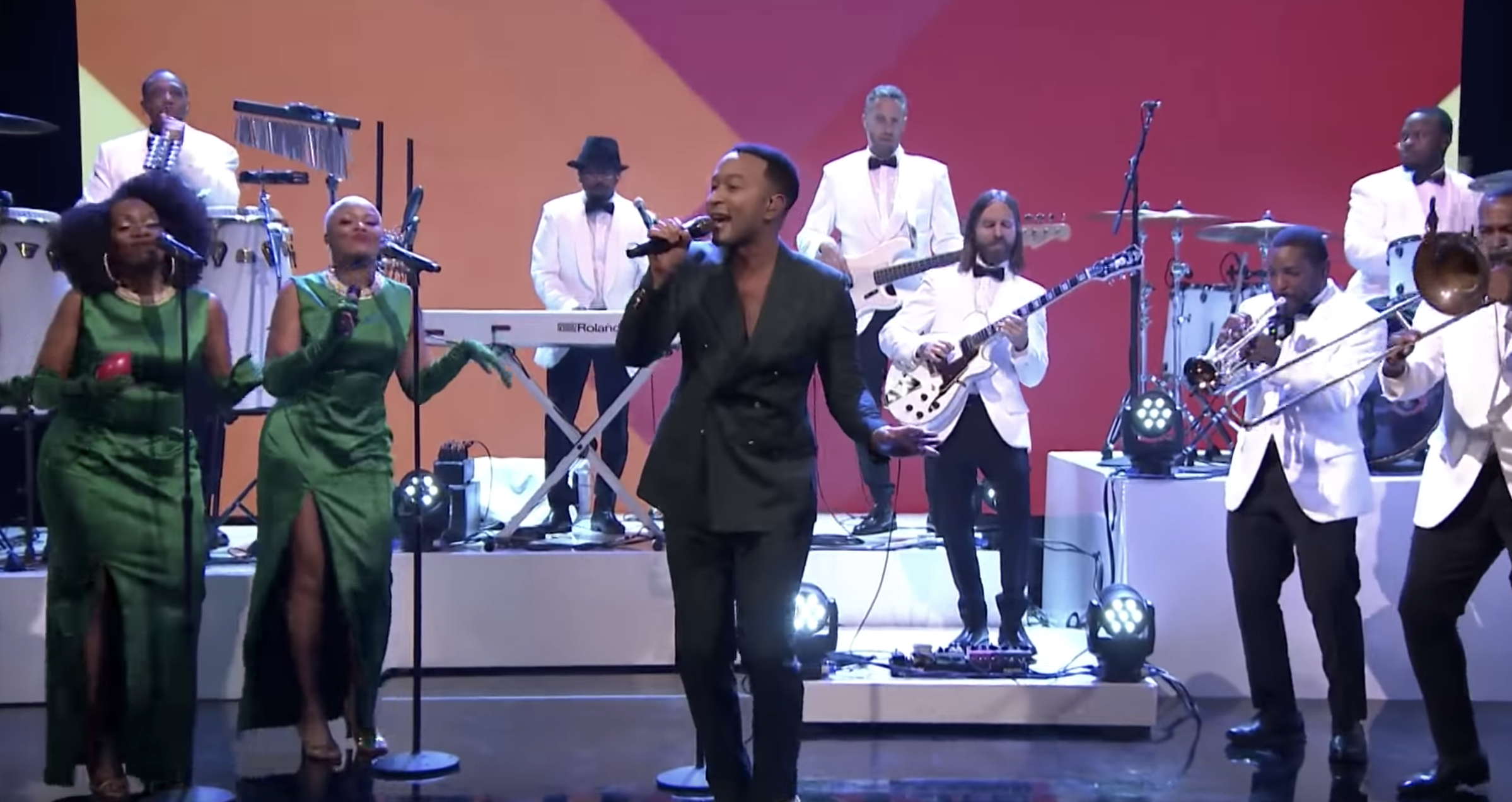 John Legend Performs 'This Christmas,' Talks 'Baby It's Cold Outside' Controversy on 'Fallon'
