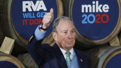 How Bloomberg is shedding his Wall Street baggage