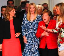 Booed in Berlin for praising father, Ivanka Trump says fine-tuning role
