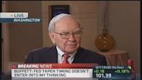Buffett on Fed policy and economy