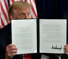 Donald Trump signs executive orders on coronavirus relief