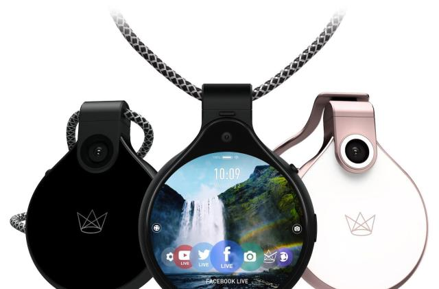 FrontRow is the latest wearable livestreaming camera