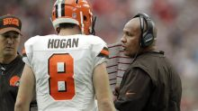 Another game, another Browns loss; so why did Hue Jackson bench DeShone Kizer?