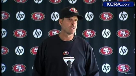 49ers coach discusses linebacker's arrest
