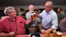 Morrison visits flood-hit Queensland farms