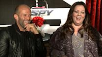 20 Awkward Questions With: Jason Statham & Melissa McCarthy