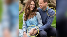Prince William and Kate Middleton's Fingers in Their 10th Anniversary Photos Reveal a Lot