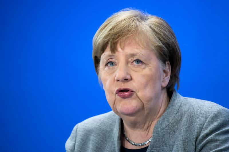 Merkel Coronavirus