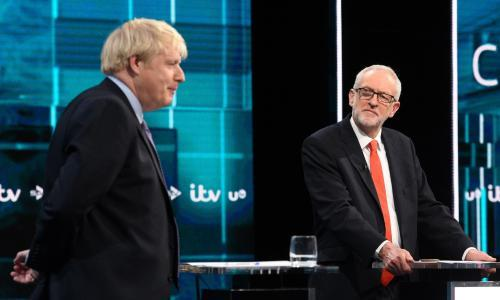 Corbyn outperforms expectations in head to head with Johnson