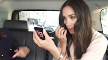 Meghan Markle Did a Makeup Tutorial in an Uber