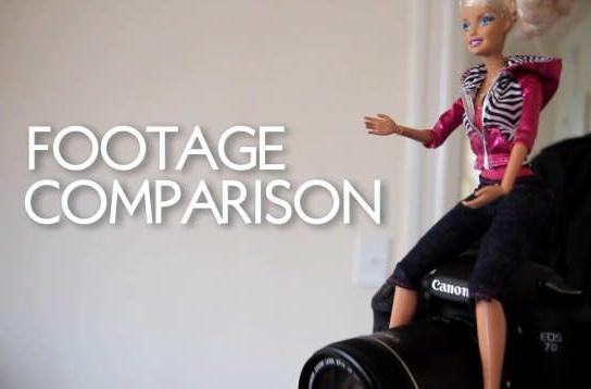 Canon 7D vs Barbie Video Girl... fight! (video)