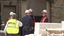 Worker shocked with 13,000 volts in Center City