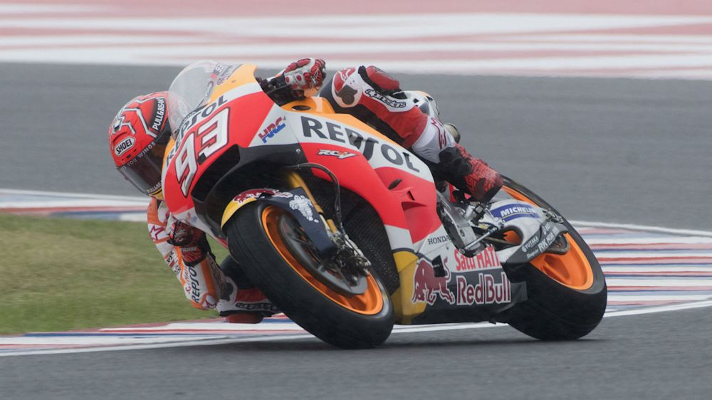 Marquez reigns supreme again at Circuit of the Americas as Vinales retires