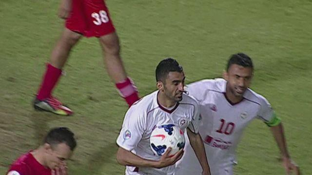 Added time goal rescues Nejmeh a 1-1 draw