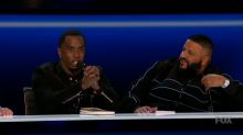 P. Diddy throws shade at 'The Voice' and 'American Idol' in series premiere of 'The Four'