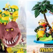 黃色小搗蛋來搶錢了!野獸國重現4大《小小兵》經典動畫場景,先搶收恐龍、夏威夷款