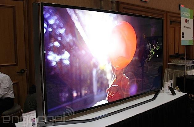 LG's latest 84-inch 4K TV breaks cover at CES