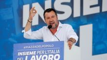 Italy's right-wing League opens office near old Communist HQ in symbolic move