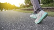 A 10-minute walk a day 'reduces risk of heart attack or stroke'