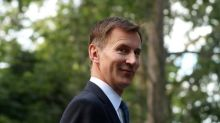Hunt says cannot envisage Britain joining U.S.-led war with Iran