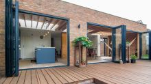 The Epsom home with an unusual extension