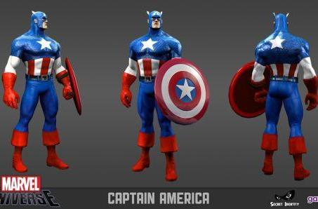 Marvel Universe Online's newest addition is... not U.S.Agent