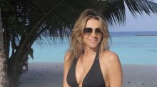 Elizabeth Hurley, 55, Just Showed Off Her Toned Bod In A New Swimsuit Instagram Photo
