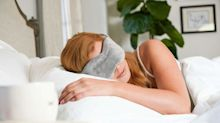 Can't sleep? This weighted eye mask works wonders