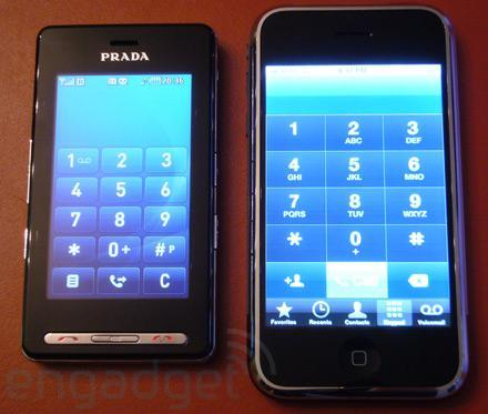 Apple iPhone vs LG Prada: separated at birth? (part 2)