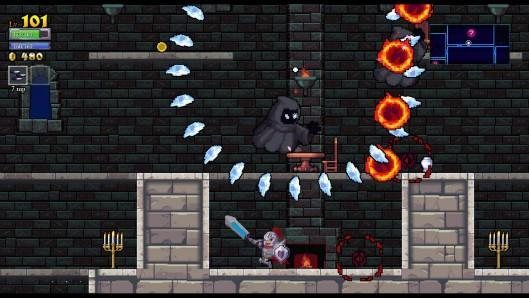 Rogue Legacy stars knights with different (dis)abilities, out now on PC