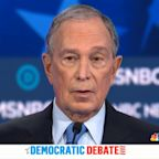 Michael Bloomberg takes debate stage and brunt of attacks
