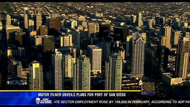 Mayor Filner unveils plans for Port of San Diego
