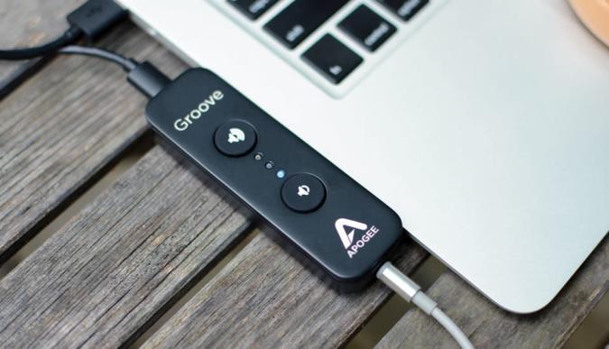 Apogee Groove improves headphone audio, for a price