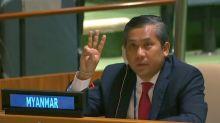 Myanmar U.N. envoy, junta make rival claims to U.N. representation