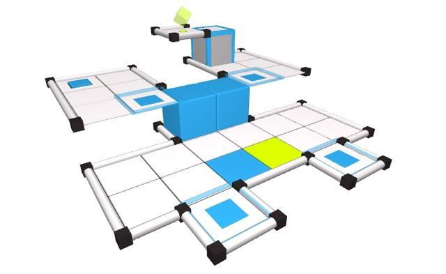 Cubot is a fun, minimalist puzzler