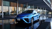Toyota Clings to Hydrogen Bet While Electric Sales Soar