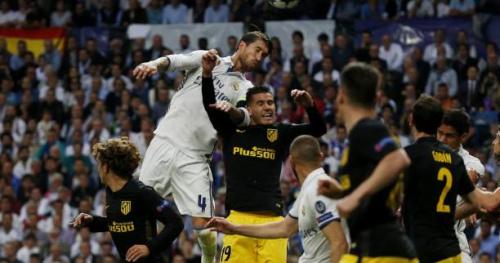 Foot - C1 - Sergio Ramos ne sera pas inquiété par l'UEFA après son coup de coude sur Lucas Hernandez