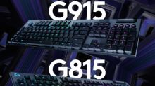 Logitech G915 LIGHTSPEED and G815 LIGHTSYNC RGB Mechanical Gaming Keyboards Offer a New Dimension of Gameplay