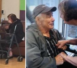 Grandparents Reunited After 8 Months of Living in Different Nursing Homes